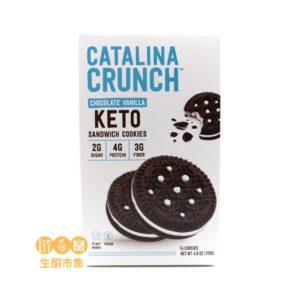 Catalina Crunch 低碳夾心曲奇 雲呢拿朱古力味 193g