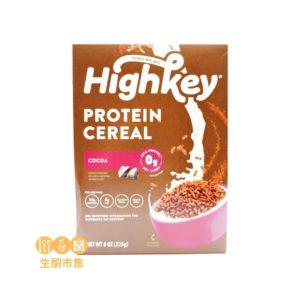 Highkey 生酮蛋白早餐脆片 朱古力味 225g